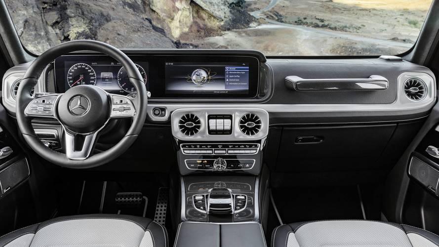 2019 Mercedes-Benz G-osztály utastér