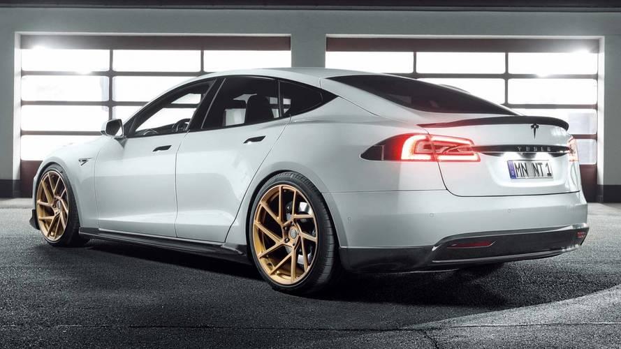 Tesla Model S par Novitec