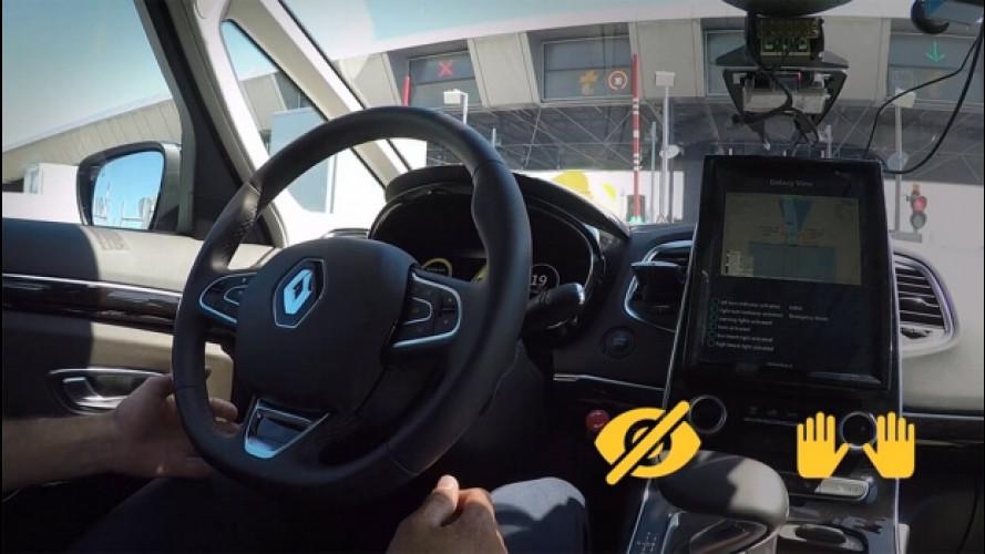 Renault e Sanef, insieme per la guida autonoma