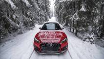 Audi RS5 winter photo session
