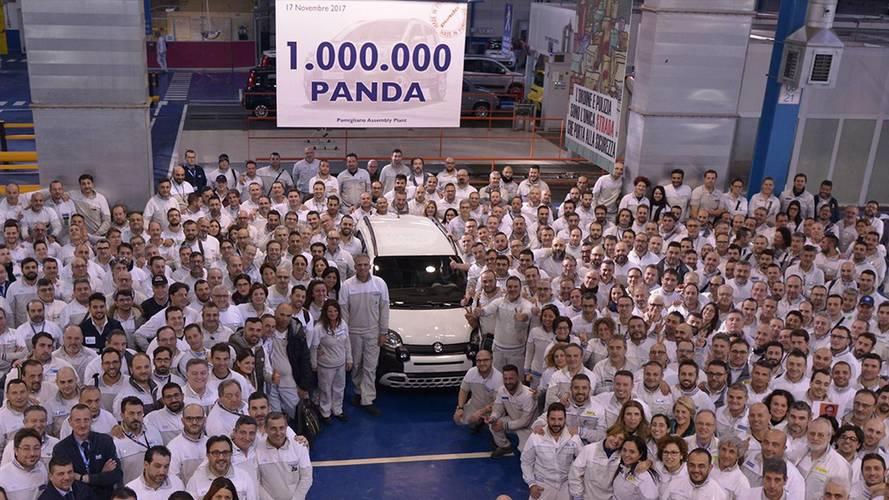 One-Millionth Current-Gen Fiat Panda Rolls Off Production Line