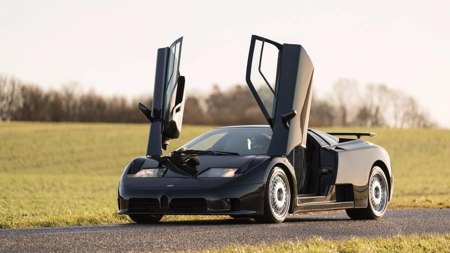 1993 Bugatti EB110 Auction