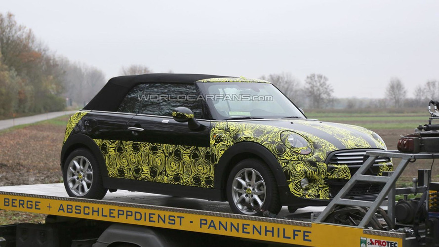 2014 MINI Cooper Convertible is getting ready to go topless