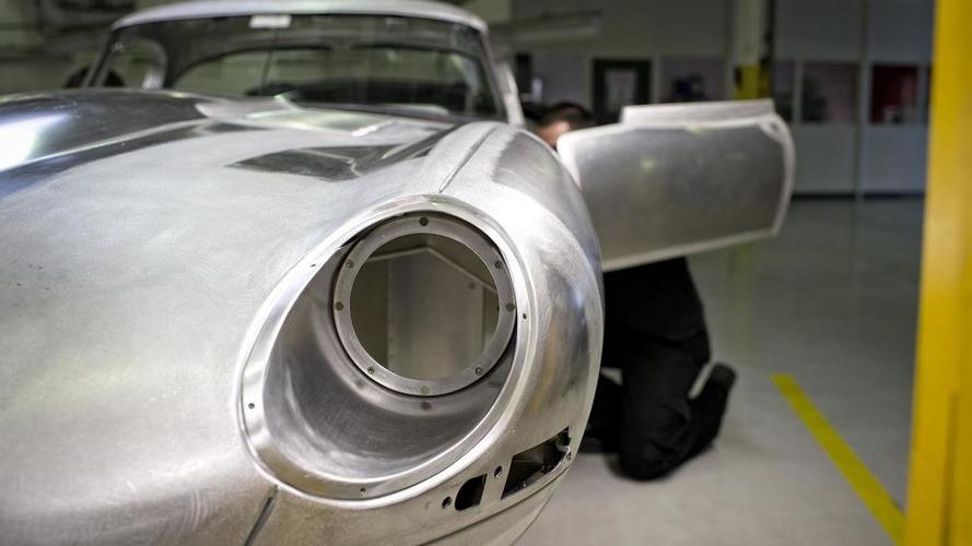 Jaguar producing the remaining six units of Lightweight E-Type