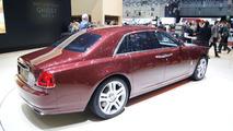 Rolls Royce Ghost Series II debut in Geneva