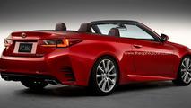 Lexus RC Convertible rendered for your pleasure