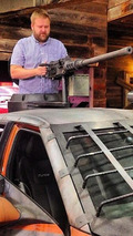 Hyundai Veloster Zombie Survival Machine revealed at Comic-Con