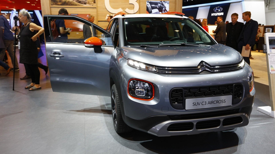 Citroen C3 Aircross Shows Up In Frankfurt With Quirky Design Cues
