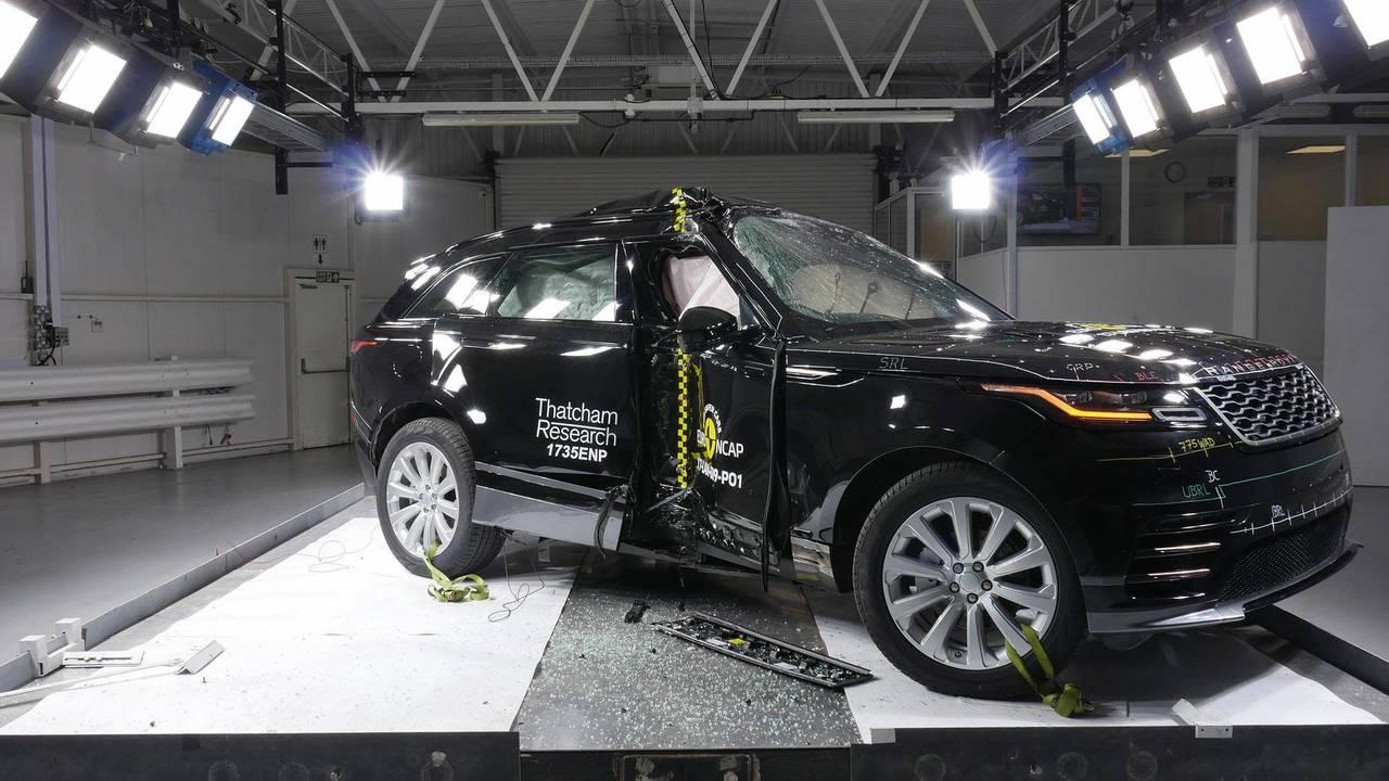 Range Rover Velar - Testes do EuroNCAP