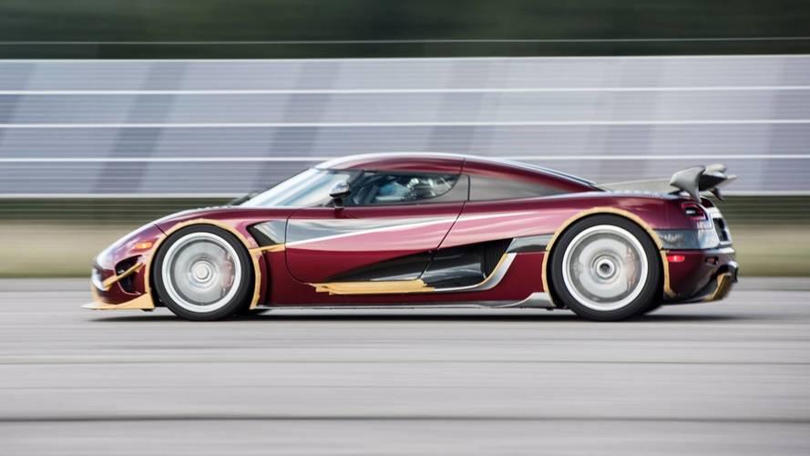 Földbe döngölte az Agera RS a Bugatti Chiron nemrég felállított 0-400-0-ás rekordját