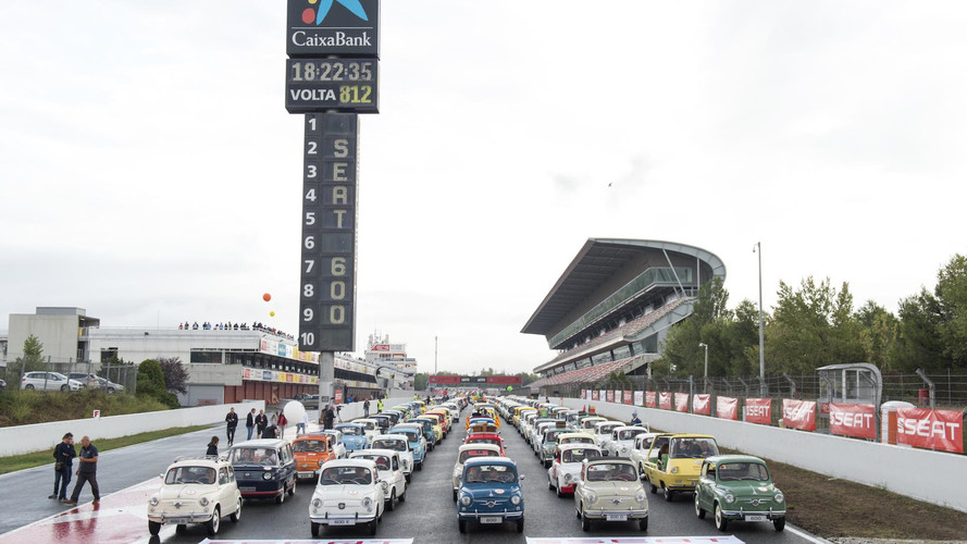 SEAT 600 Récord Guinness 2017