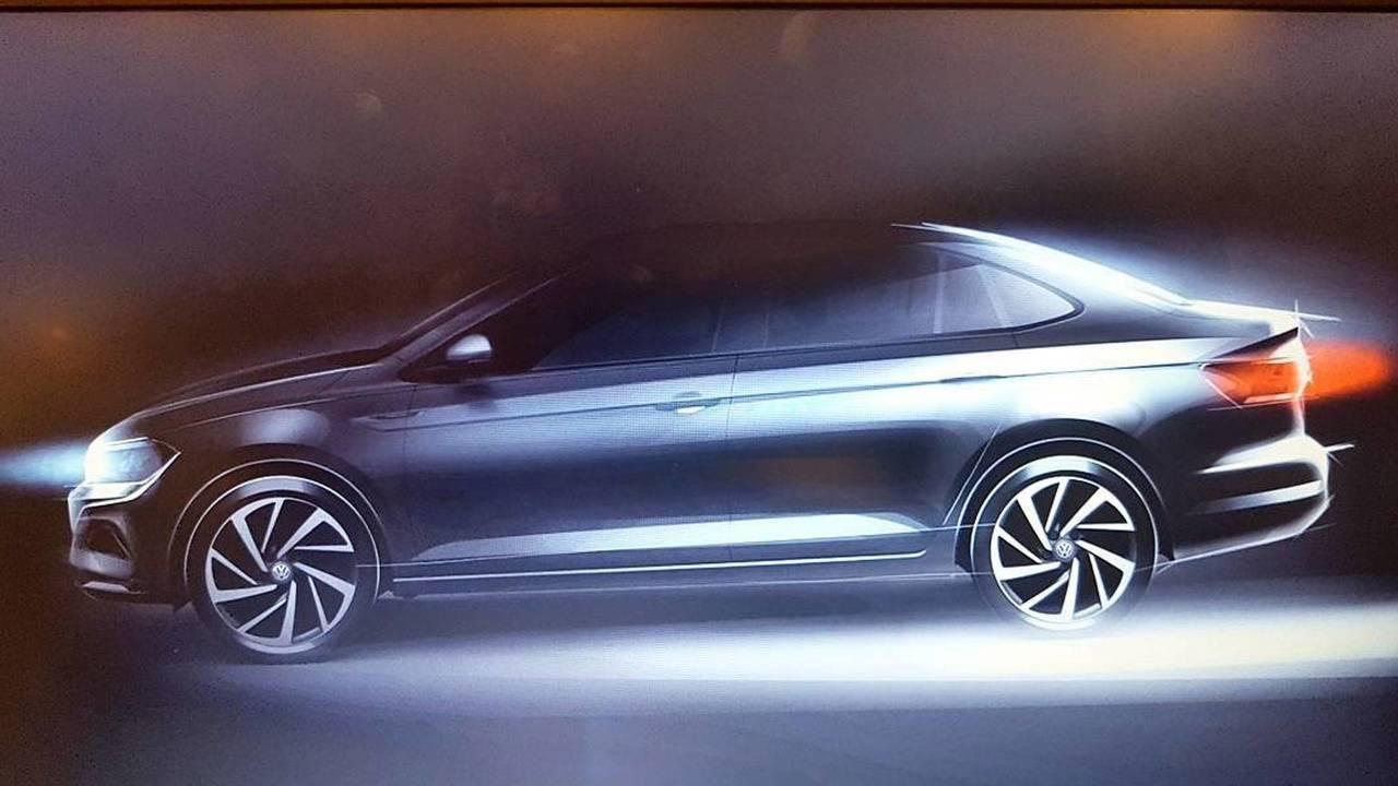Volkswagen Virtus - Teaser