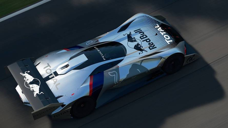 Peugeot L750 R HYbrid Vision GT — Gran Turismo