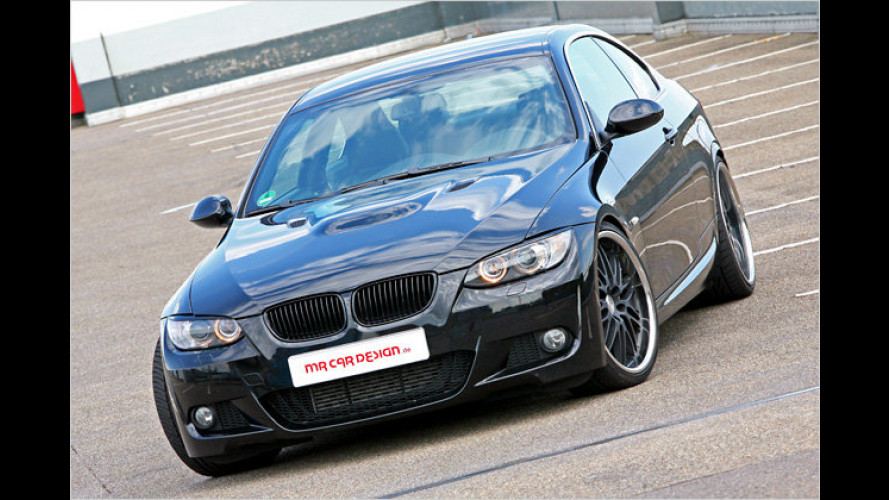 Black Scorpion sticht: BMW 335i Coupé von MR Car Design
