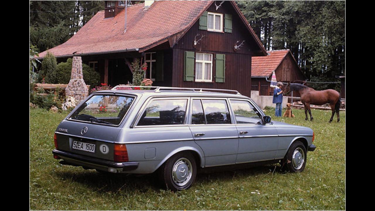 30 Jahre Mercedes T-Modelle