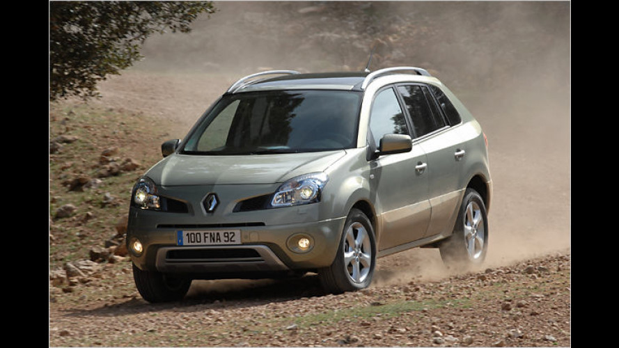 Familienauto Koleos: Nun hat auch Renault ein SUV