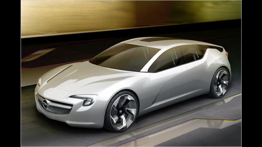 Opel Flextreme GT/E Concept: Großer Saubermann