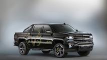 Chevrolet Silverado Realtree Bone Collector bows at SEMA