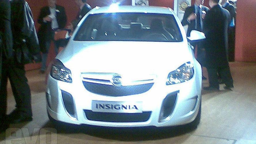 Opel/Vauxhall Insignia OPC/VXR Leaked Photo