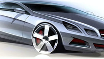 Mercedes-Benz E-Class Coupé, design