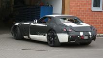 Mercedes SLS AMG Gullwing white prototype spy photos