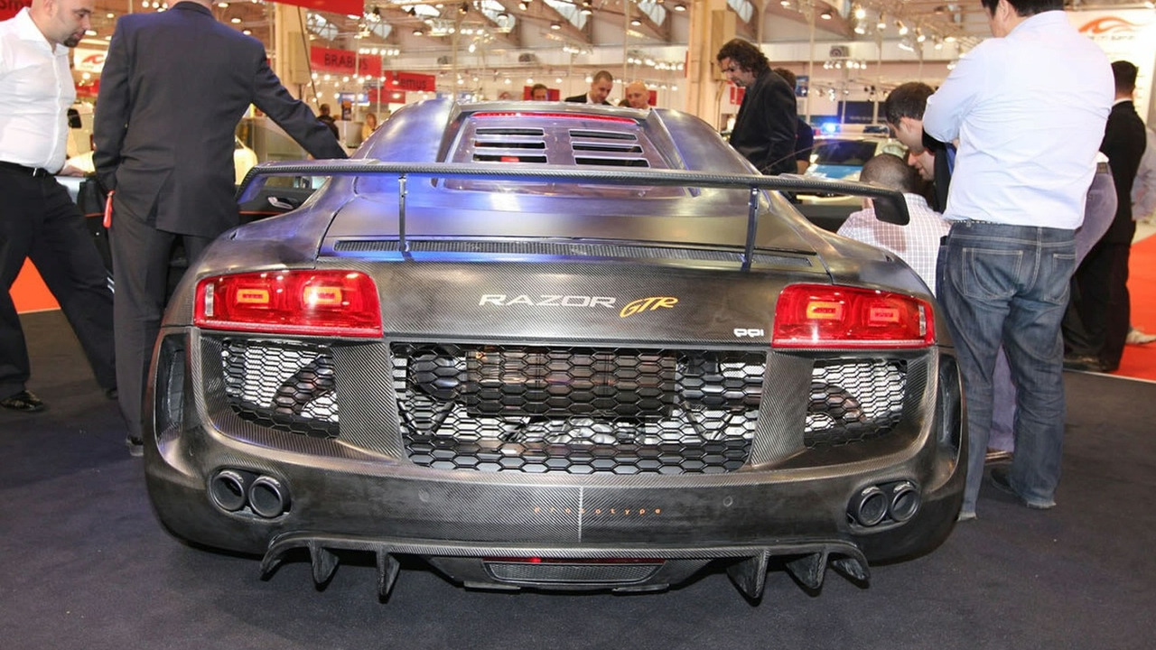 PPI Razor GTR based on Audi R8 at 2008 Essen Motor Show