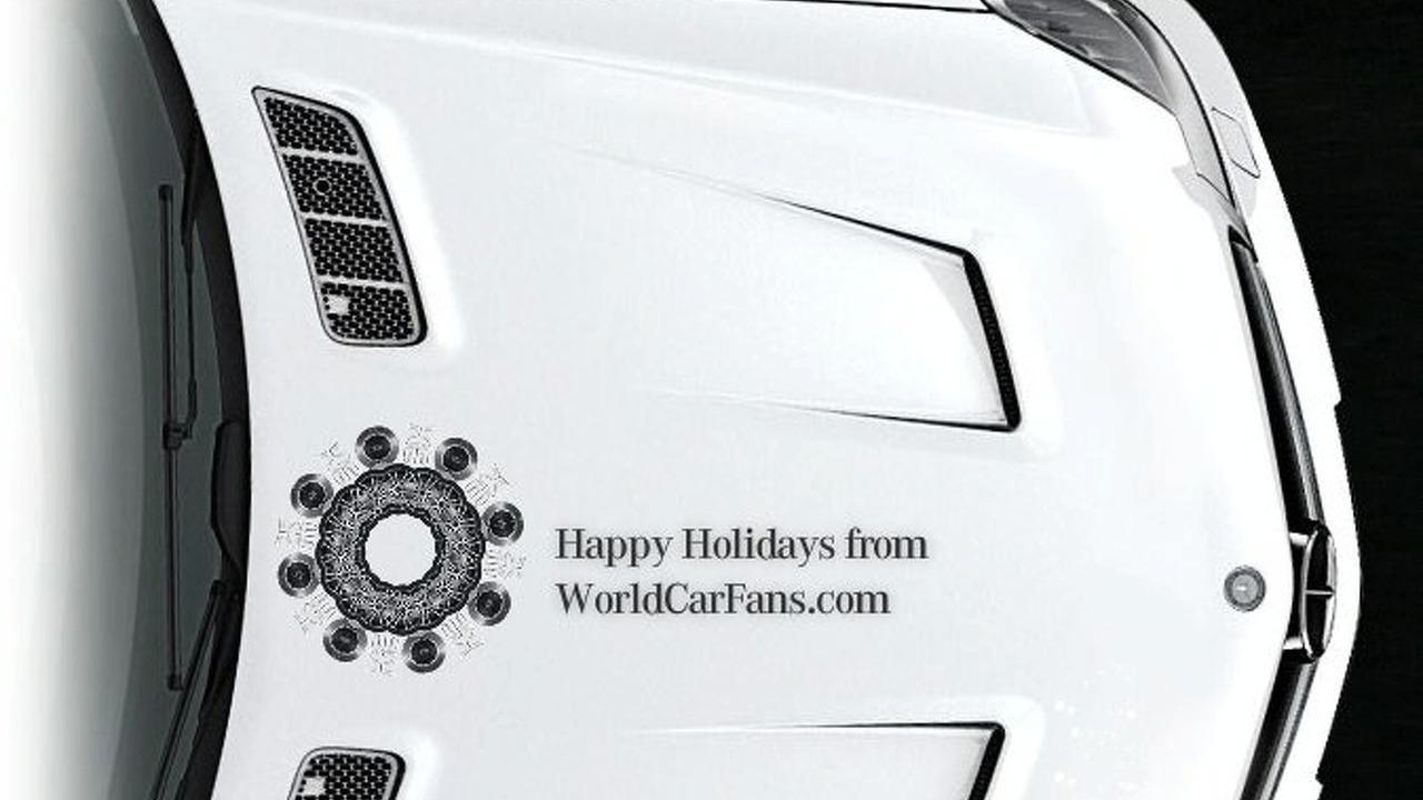 Mercedes AMG snowflake creator