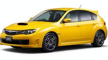 Subaru Impreza WRX STI spec C with 18-inch wheels