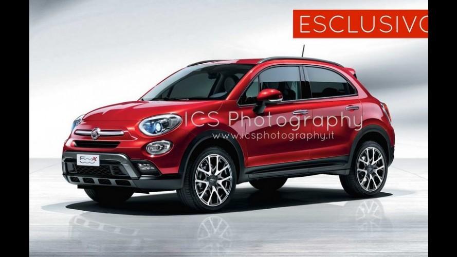 Vazou: veja as primeras fotos oficiais do Fiat 500X