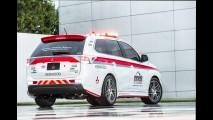 Outlander e Lancer Evo serão carros de segurança do Pikes Peak