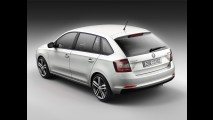 Rapid Spaceback é misto de hatchback e station da Skoda