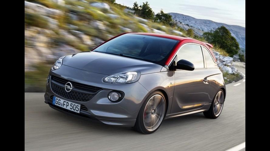 Opel Adam estreia versão esportiva S com motor turbo de 150 cv