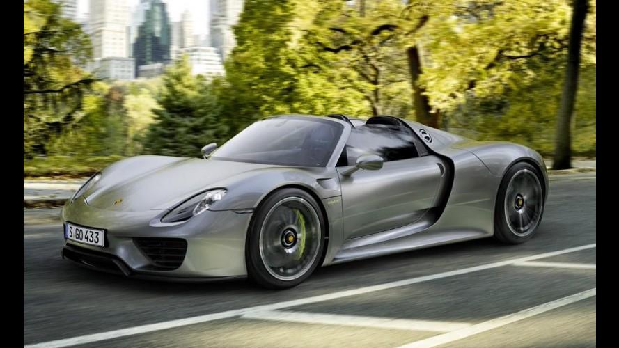 Porsche convoca 918 Spyder para recall por problemas no chassi
