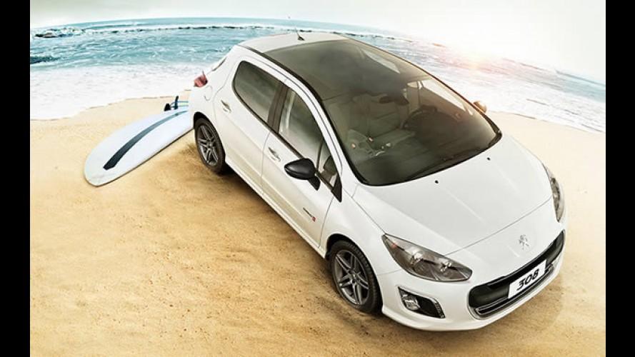Série especial: Peugeot lança 308 Quiksilver por R$ 63.190