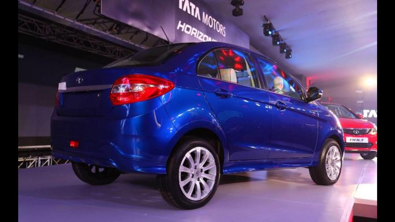 Tata Motors revela suas novas crias na Índia: o hatch Bolt e o sedan Zest