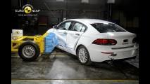 Qoros 3 Sedan foi o carro compacto mais seguro testado pelo EuroNCAP em 2013