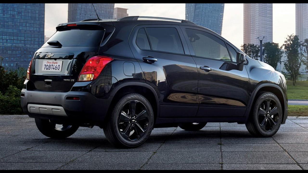 Chevrolet Tracker passa para o lado negro da força com edição especial