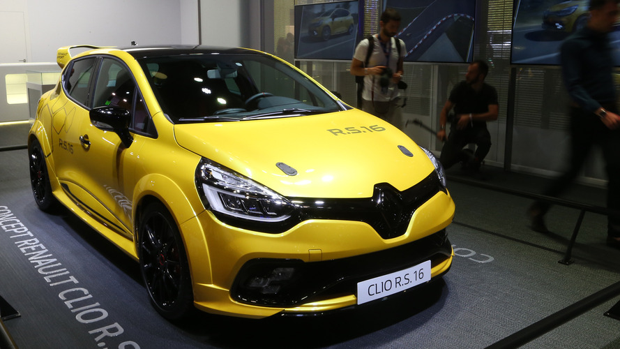 Renault Clio R.S. 16'nın üretime girme ihtimali yüksek