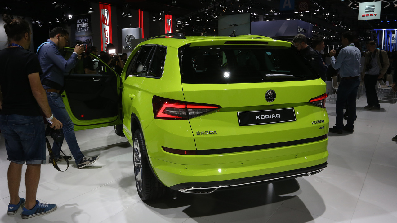 Perfect Skoda Kodiaq SUV Debuts In Paris