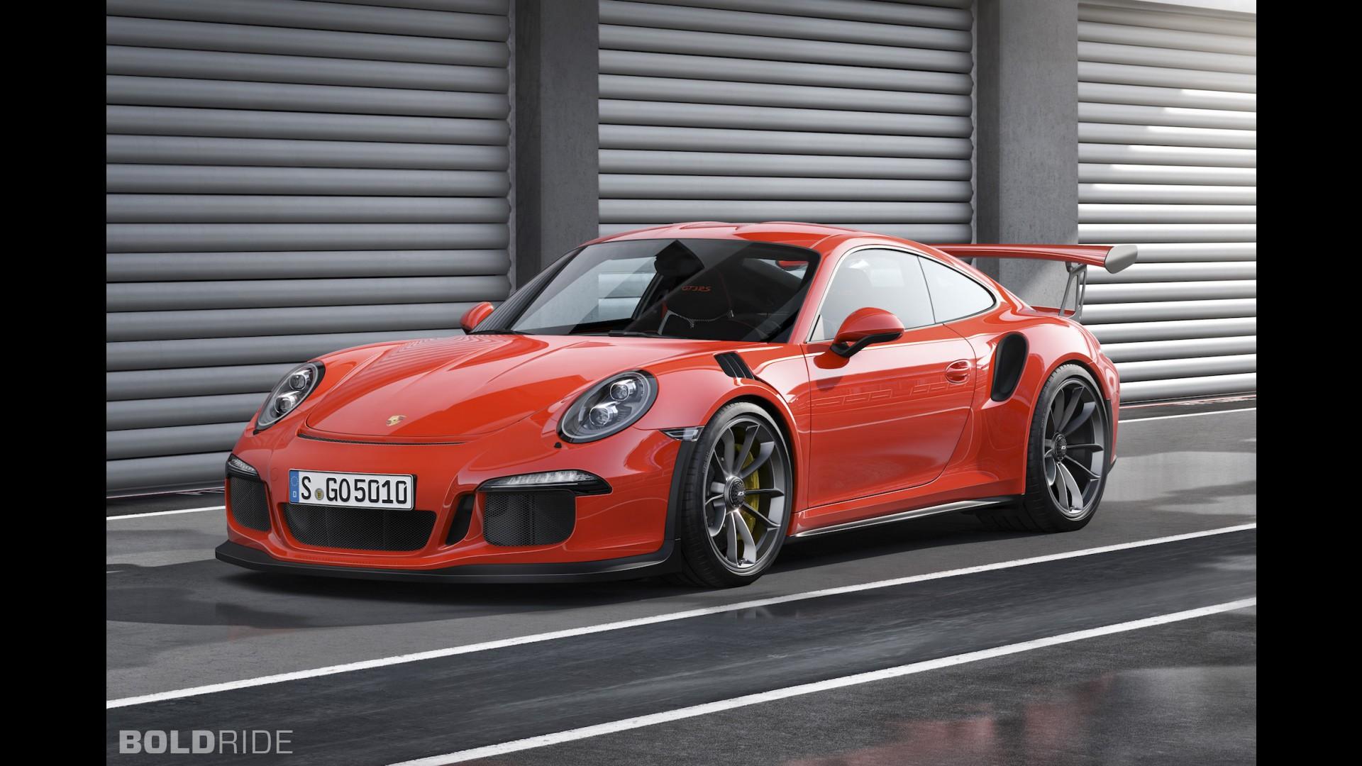 Самый быстрый Porsche 911 GT3 RS 2015