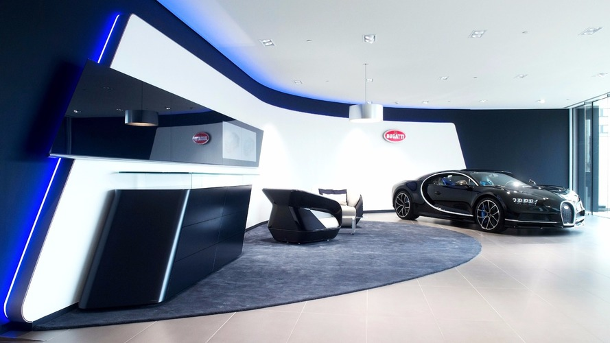 Bugatti ouvre son plus grand showroom d'Europe à Bruxelles