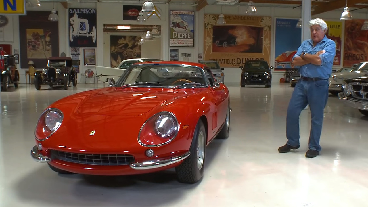 Jay Leno gushes over a 1967 Ferrari 275 GTB4