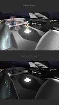Apple Car 2076, interior