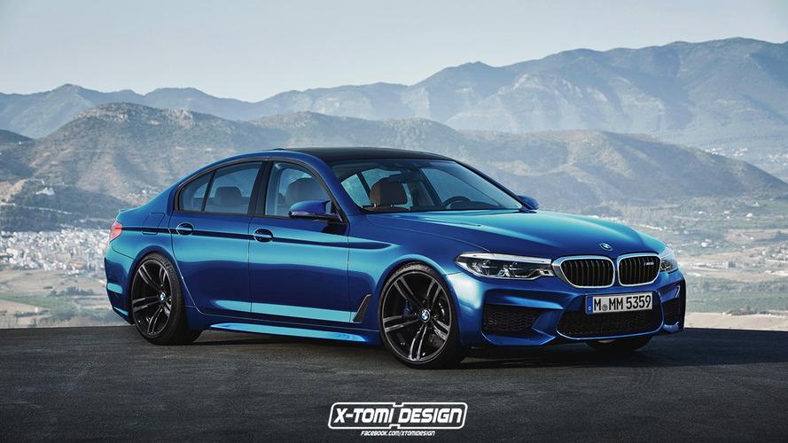 Découvrez les premiers rendus de la BMW M5 et de la Série 5 Touring!