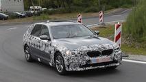 2017 BMW 5 Serisi Touring casus fotoğrafları