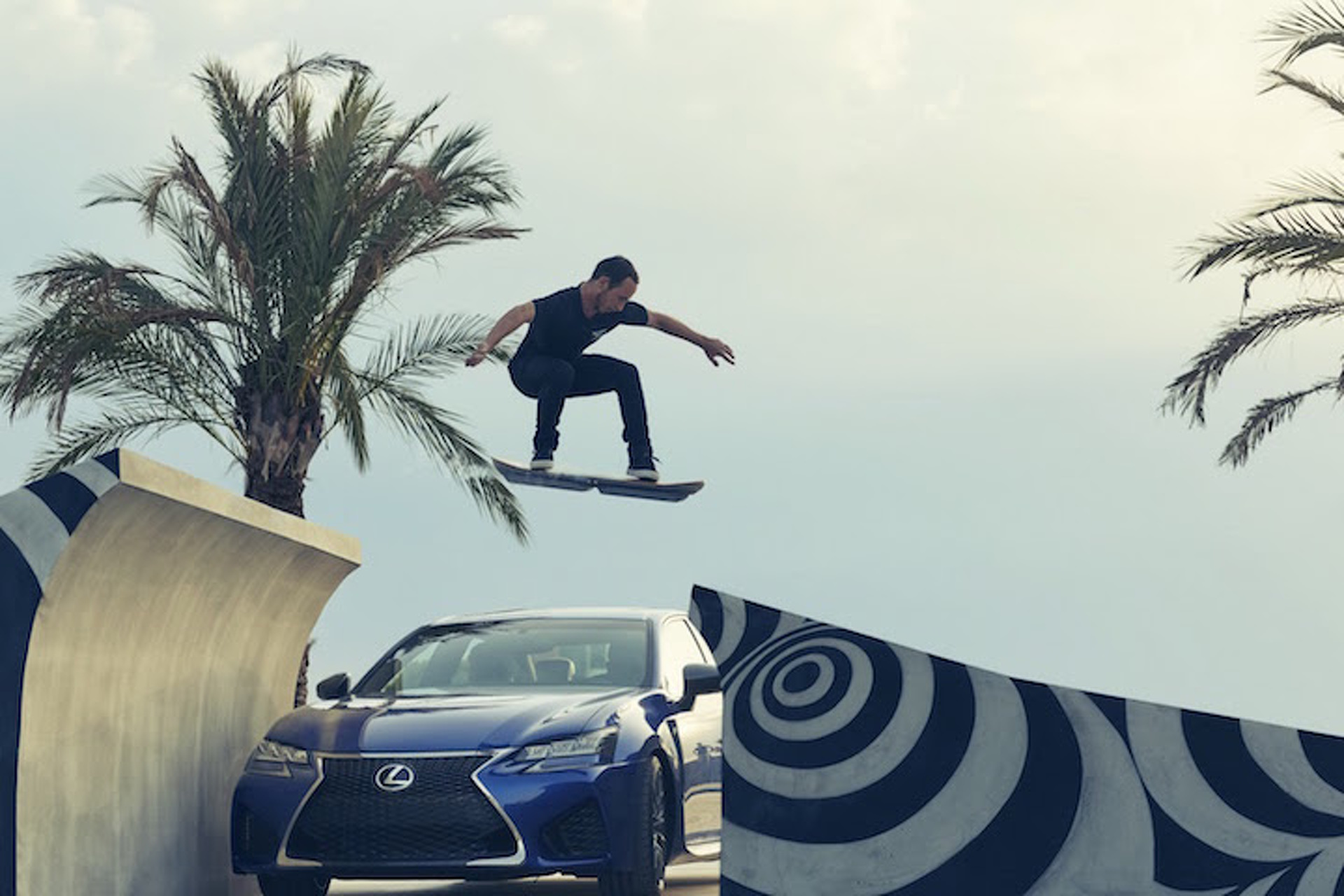 The Lexus Hoverboard Actually Works—But There's a Catch