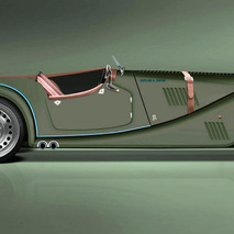 Morgan Plus 8 Speedster is Modern Power Wrapped in Vintage Styling
