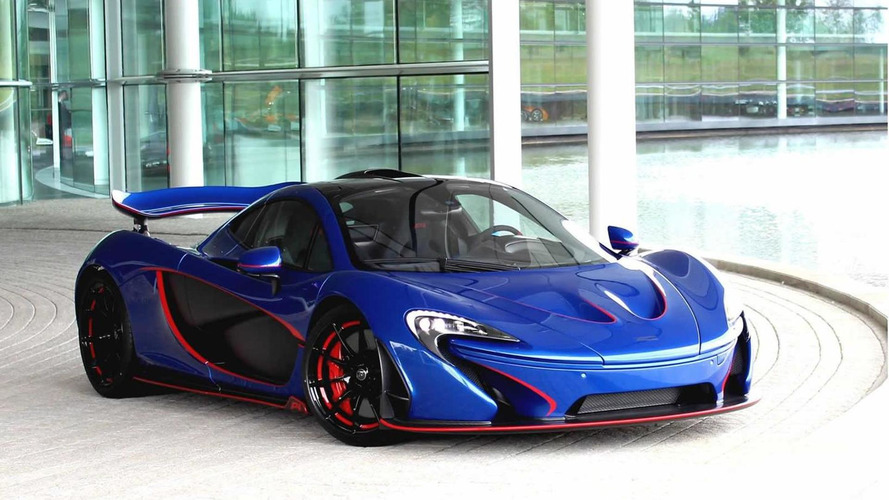 McLaren Special Operations unveils new customized P1