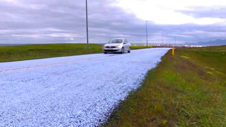 Iceland hopes painted roads will stop the killing of Arctic terns