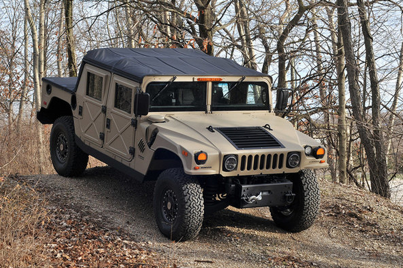 How Would You Power A Brand-New Humvee Kit?